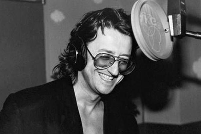 Александр Градский на студии звукозаписи, 1970-е