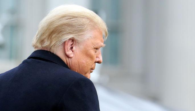 «Просто смешно»: Трамп объяснил свое поражение на выборах