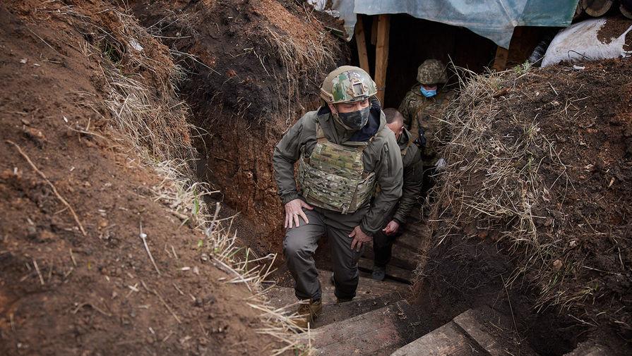 Зеленский подтвердил обострение ситуации в Донбассе