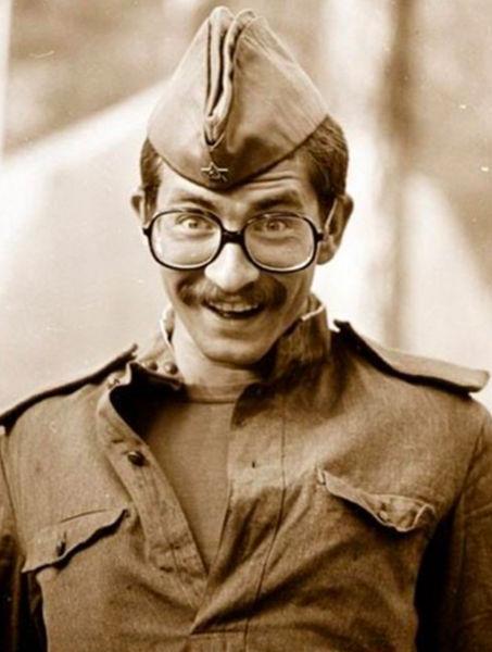 Владислав Листьев впериод службы во 2-й гвардейской Таманской мотострелковой дивизии, 1975 год