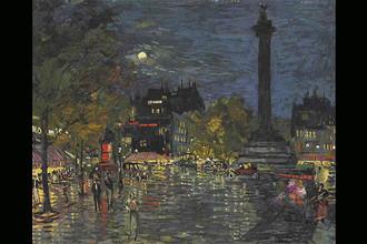 Константин Коровин. Париж в ночи