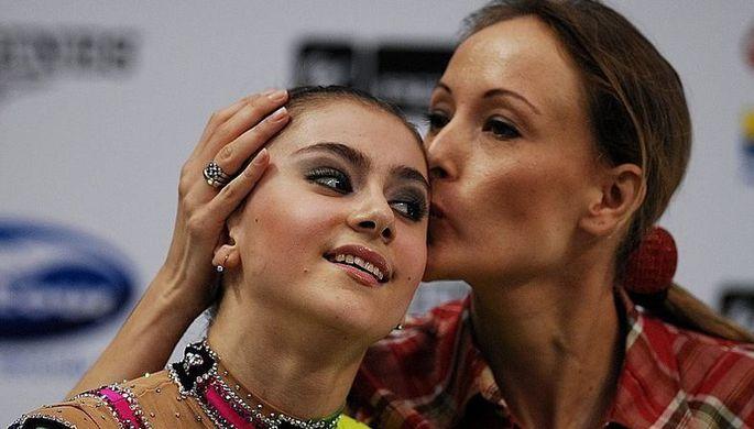 Диана Боциева со своим тренером Аминой Зариповой