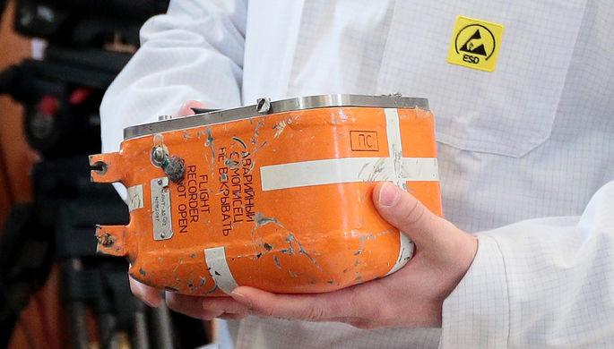 «Черный ящик» самолета Су-24М, сбитого 24 ноября 2015 года в небе Сирии истребителем ВВС Турции