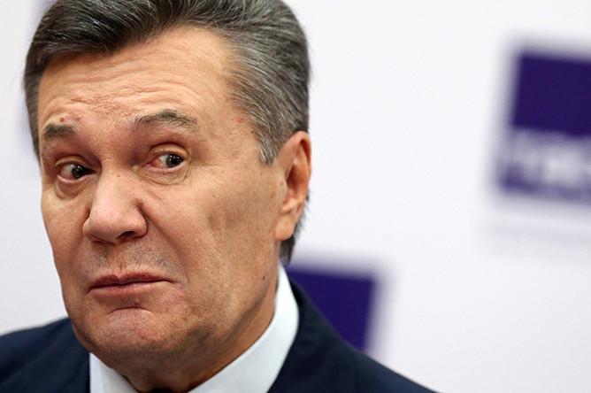 Бывший президент Украины Виктор Янукович в Ростове-на-Дону, 25 ноября 2016 года