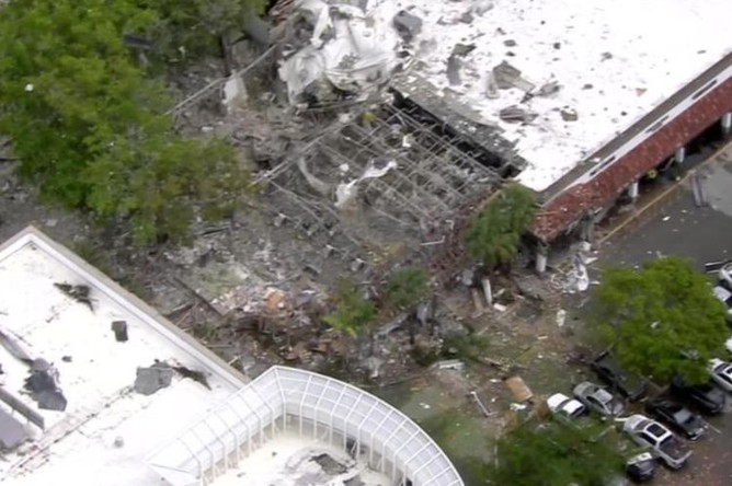 Последствия взрыва во Флориде, 6 июля 2019 года