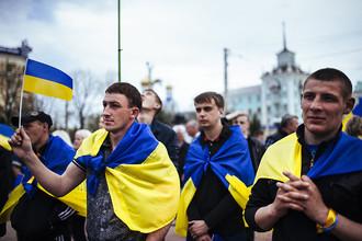 Украинцы за Украину, россияне за Путина