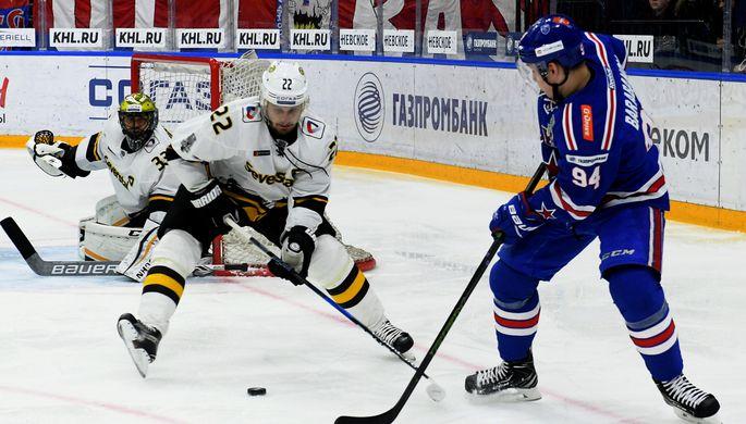 Хоккейный матч СКА — «Северсталь»