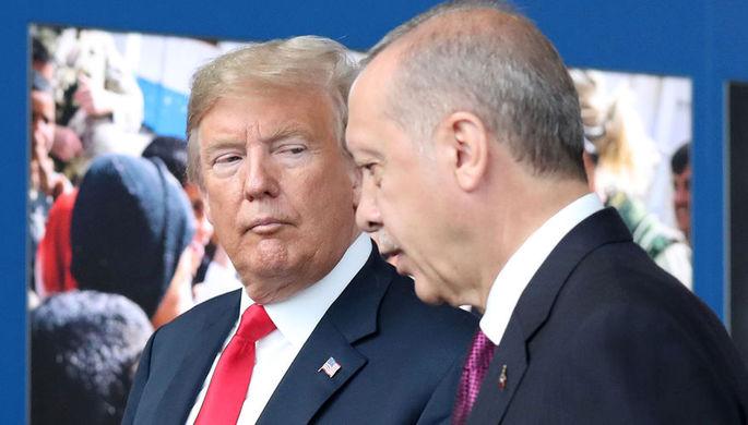 Придется дружить: тайная сделка Трампа и Эрдогана