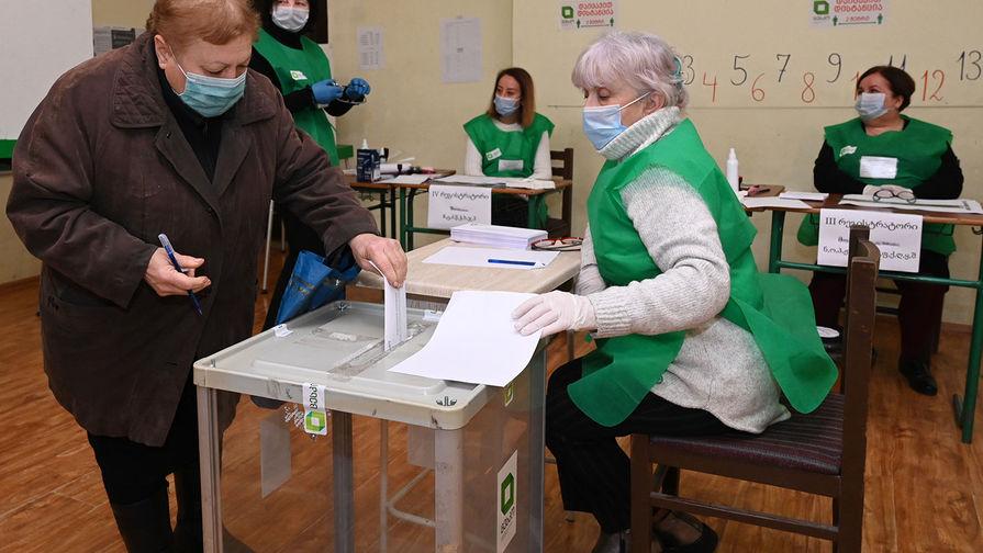 Правящая партия Грузии победила во втором туре парламентских выборов