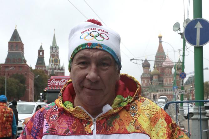 Президент федерации тенниса России Шамиль Тарпищев.