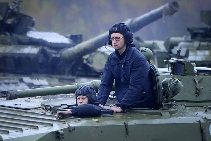 Бастрыкин: Яценюк воевал в Чечне