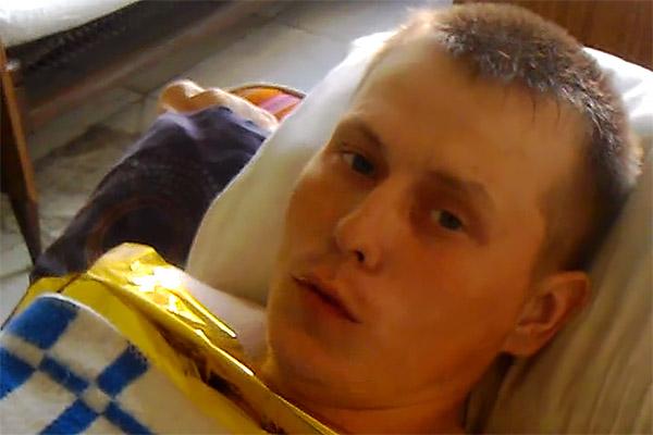 Александр Александров. Кадр из видео.