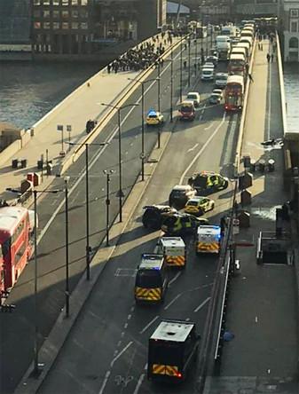 Ситуация на месте инцидента в центре Лондона, 29 ноября 2019 года