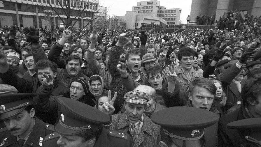 Народные выступления за независимость Литвы и поддержку ее парламента в Вильнюсе, 11 января 1991 года