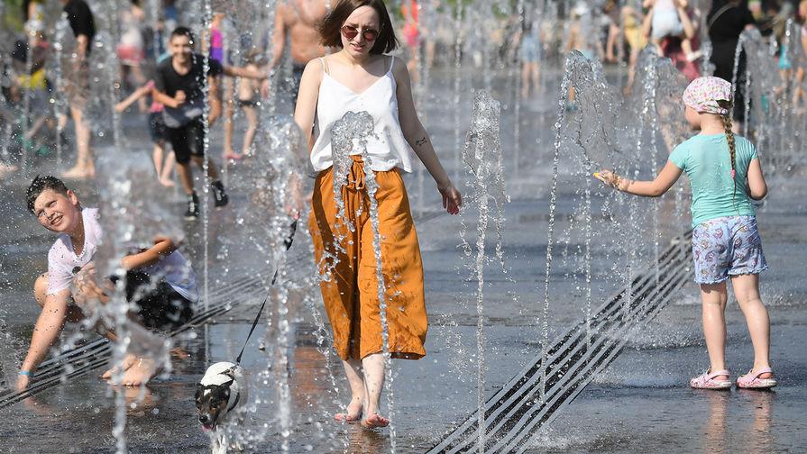 В Москве объявлен оранжевый уровень погодной опасности