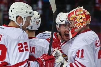 Финский «Йокерит» одержал выездную победу над лидером Западной конференции петербургским СКА
