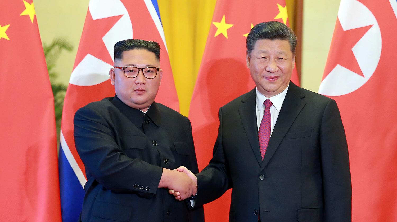 Лидеры КНР и КНДР договорились о тесном сотрудничестве