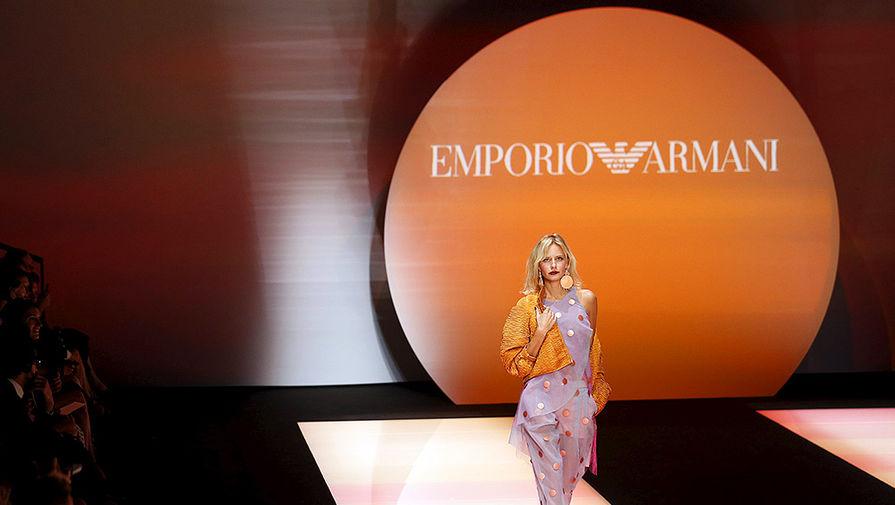 Показ коллекции Emporio Armani