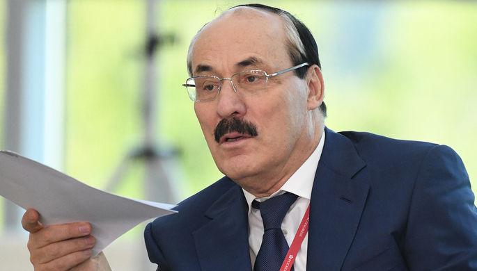Руководитель Дагестана Рамазан Абдулатипов о собственной отставке 27.09.2017
