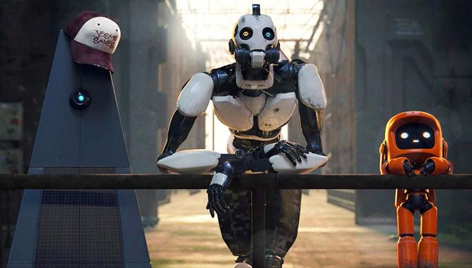Кадр из сериала «Любовь, смерть и роботы» (2019)