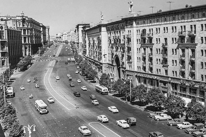 Тверская улица, 1963 год