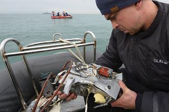 Поисково-спасательные работы у побережья Черного моря после крушения самолета Ту-154 Минобороны России, 27 декабря 2016 года
