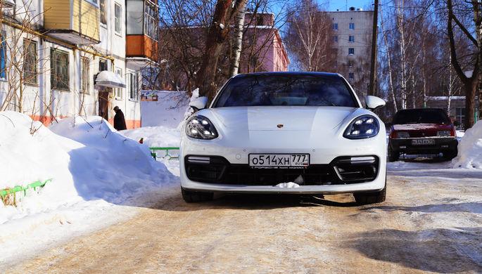 Porsche 4x4: от избы до хрущевки