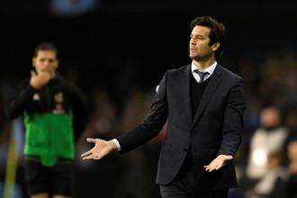 Исполняющий обязанности главного тренера мадридского «Реала» Сантьяго Солари