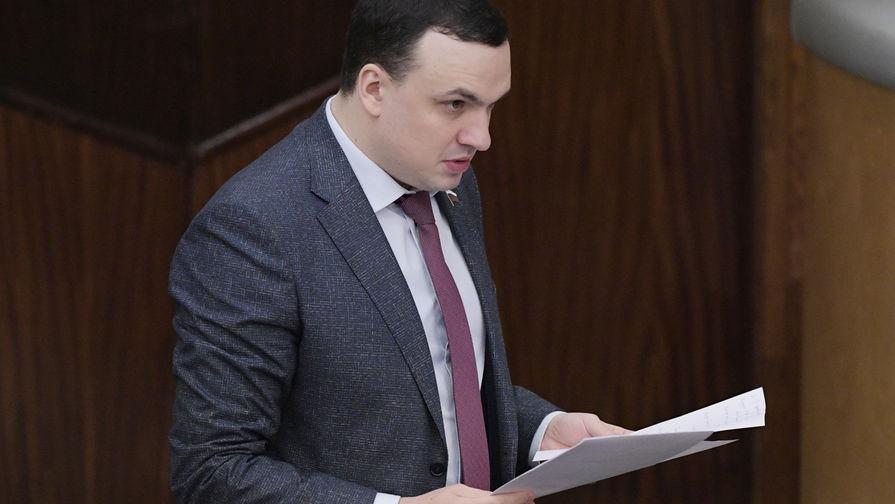 Депутат Госдумы РФ Дмитрий Ионин