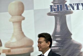 Президент ФИДЕ Кирсан Илюмжинов высоко оценил заключение контракта с «РОснефтью»