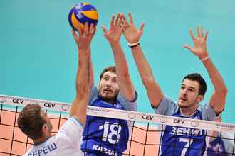 В футболе властвует питерский «Зенит», в волейболе- казанский