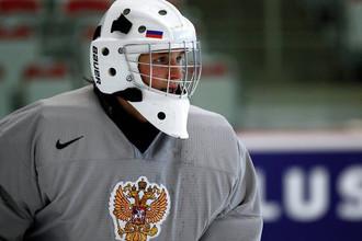 Андрею Макарову предстоит защищать ворота сборной России на молодежном чемпионате мира
