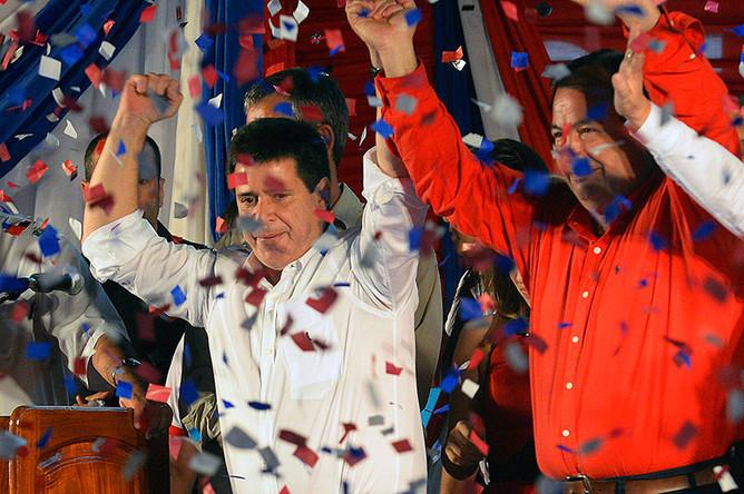 Президентом Парагвая избран предприниматель Орасио Картес