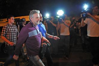 Прокурора Игнатенко отпустили