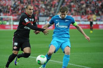 «Спартак» проиграл «Зениту» три последних матча с общей разностью 4–13