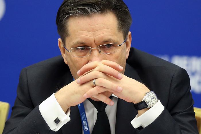 Первый заместитель министра экономического развития Алексей Лихачев на 10-м бизнес-форуме...