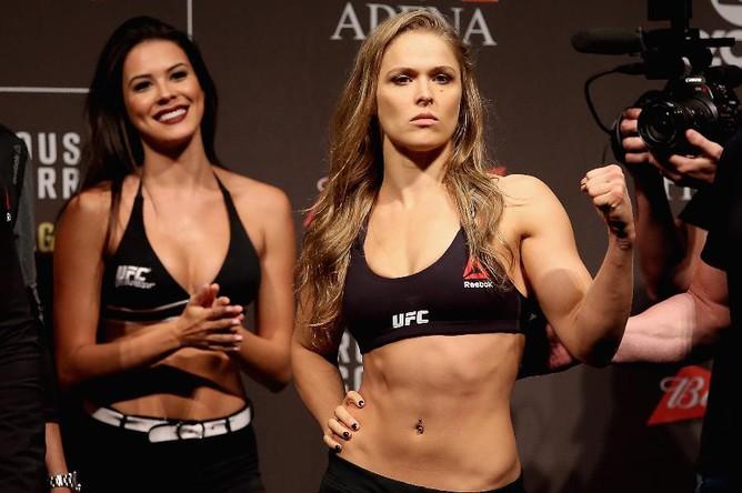 Экс-чемпионка UFC Ронда Роузи заняла 23-ю строчку и стала второй спортсменкой в списке после Марии Шараповой
