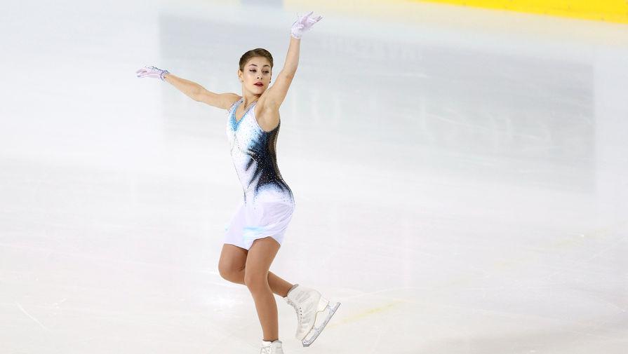 Косторная с рекордом выиграла короткую программу в финале Гран-при