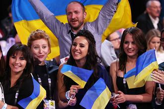 Украинская певица Джамала, победившая на конкурсе «Евровидение-2016»