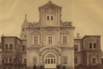 Палаты Аверкия Кириллова. Фотография датирована XIX веком