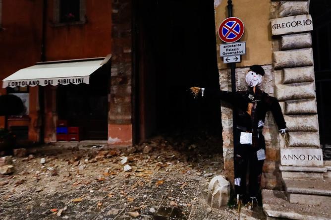 Кукла на Хеллоуин в Виссо