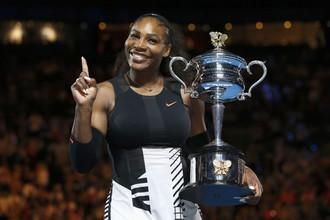 Серена Уильямс выиграла в Австралии 23-й турнир Большого шлема
