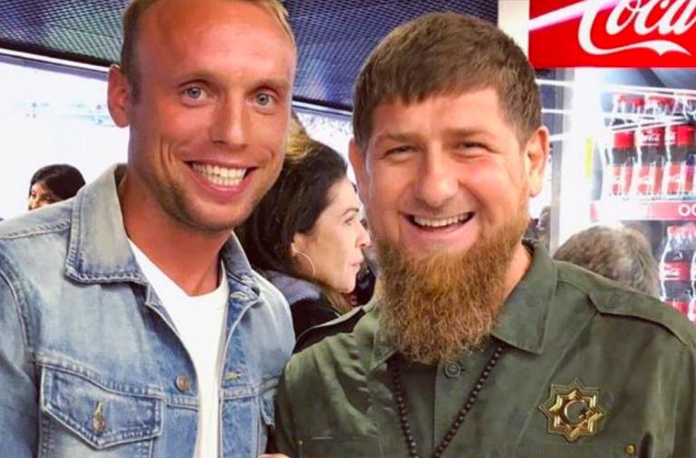 Денис Глушаков и Рамзан Кадыров
