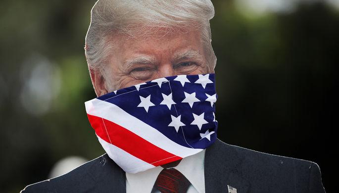 Солнечный свет и химикаты: как Трамп хочет лечить коронавирус