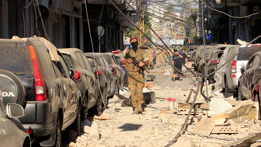 Последствия взрыва в порту Бейрута, 5 августа 2020 года