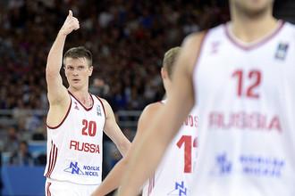 Сборная России завершила Евробаскет победой над боснийцами