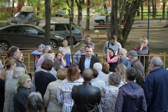 Александр Замятин, депутат района Зюзино