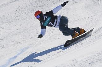 Российский сноубордист Вик Уайлд в Пхенчхане