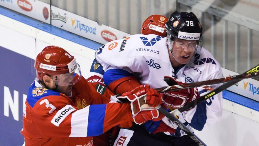 Во втором матче Евротура сборная России уступила команде Финляндии