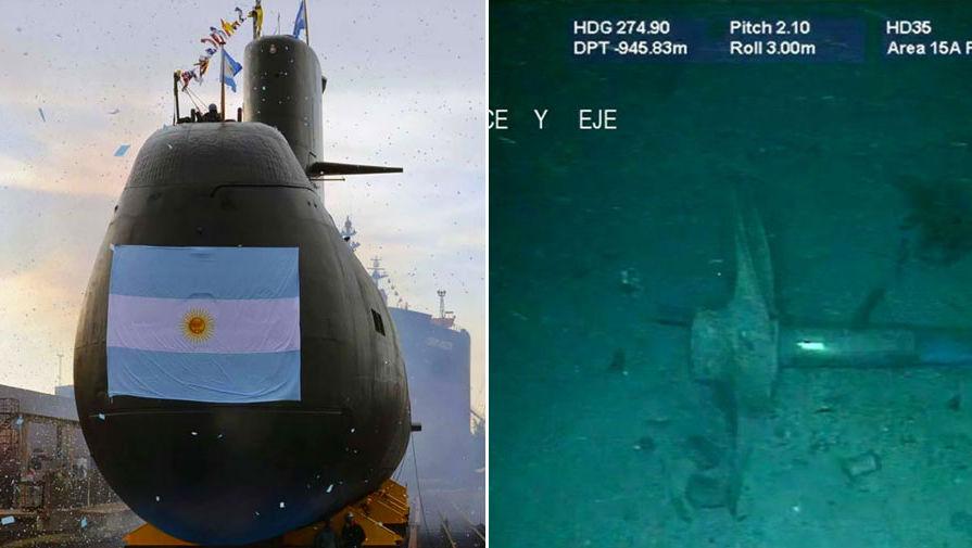 Названа причина гибели аргентинской подлодки «Сан Хуан»